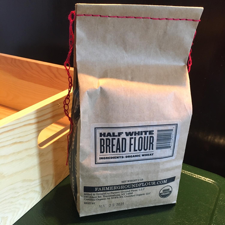 Half White Bread Flour 2 lb