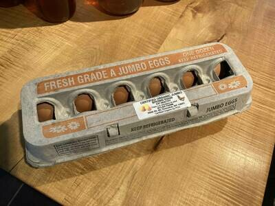 Certified Organic Brown Eggs Jumbo by Byler Farm