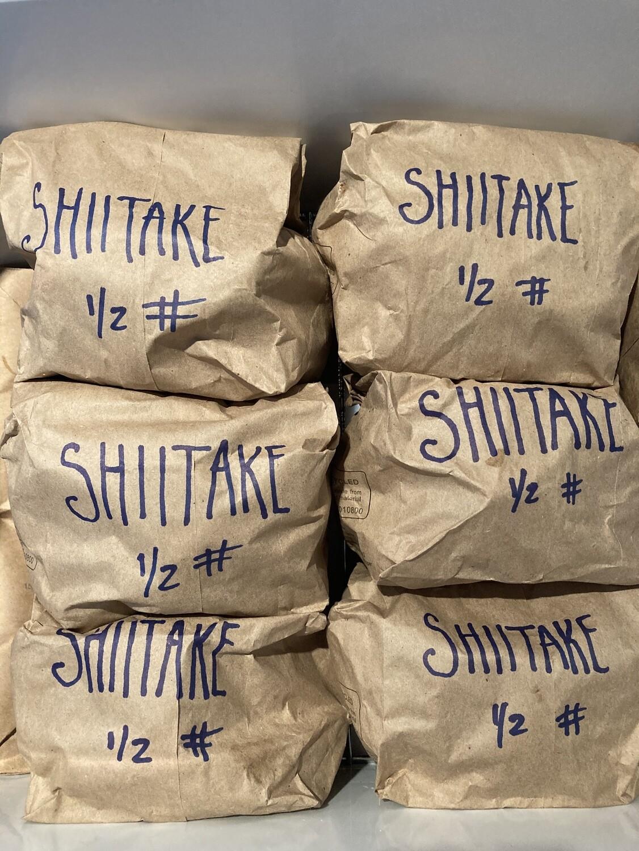 !FRESH Shiitake Mushrooms 1/2 lb (SEASONAL) Check Back In June.