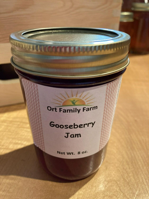 Gooseberry Jam 8 oz