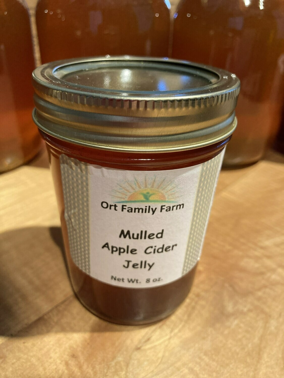 Mulled Apple Cider Jelly 8 oz