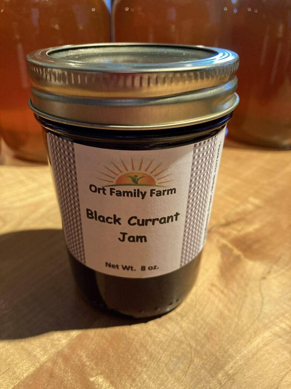 Black Currant Jam 8 oz