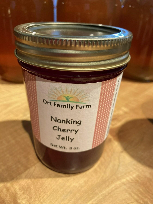 Nanking Cherry Jelly 8 oz