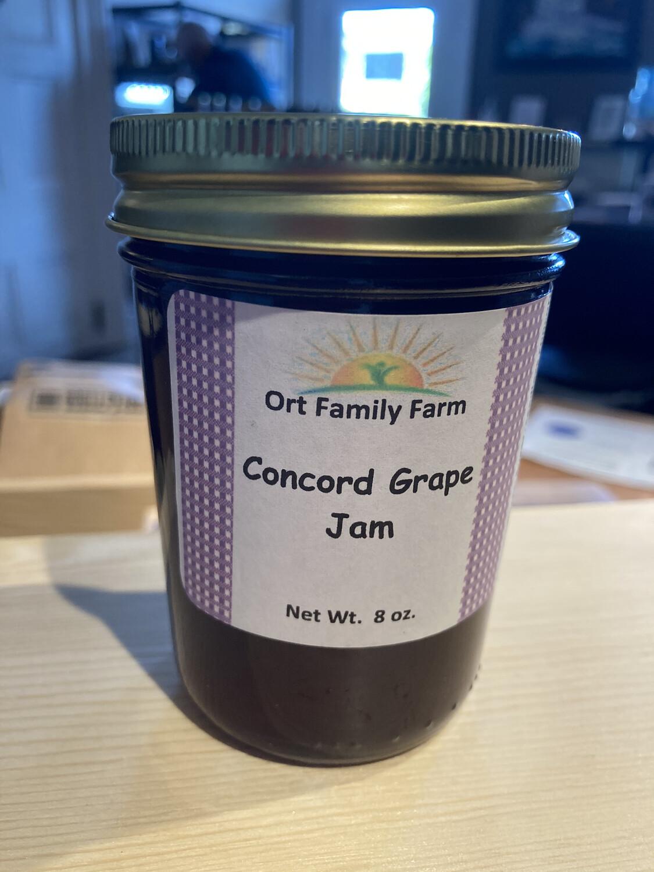Concord Grape Jam 8 oz