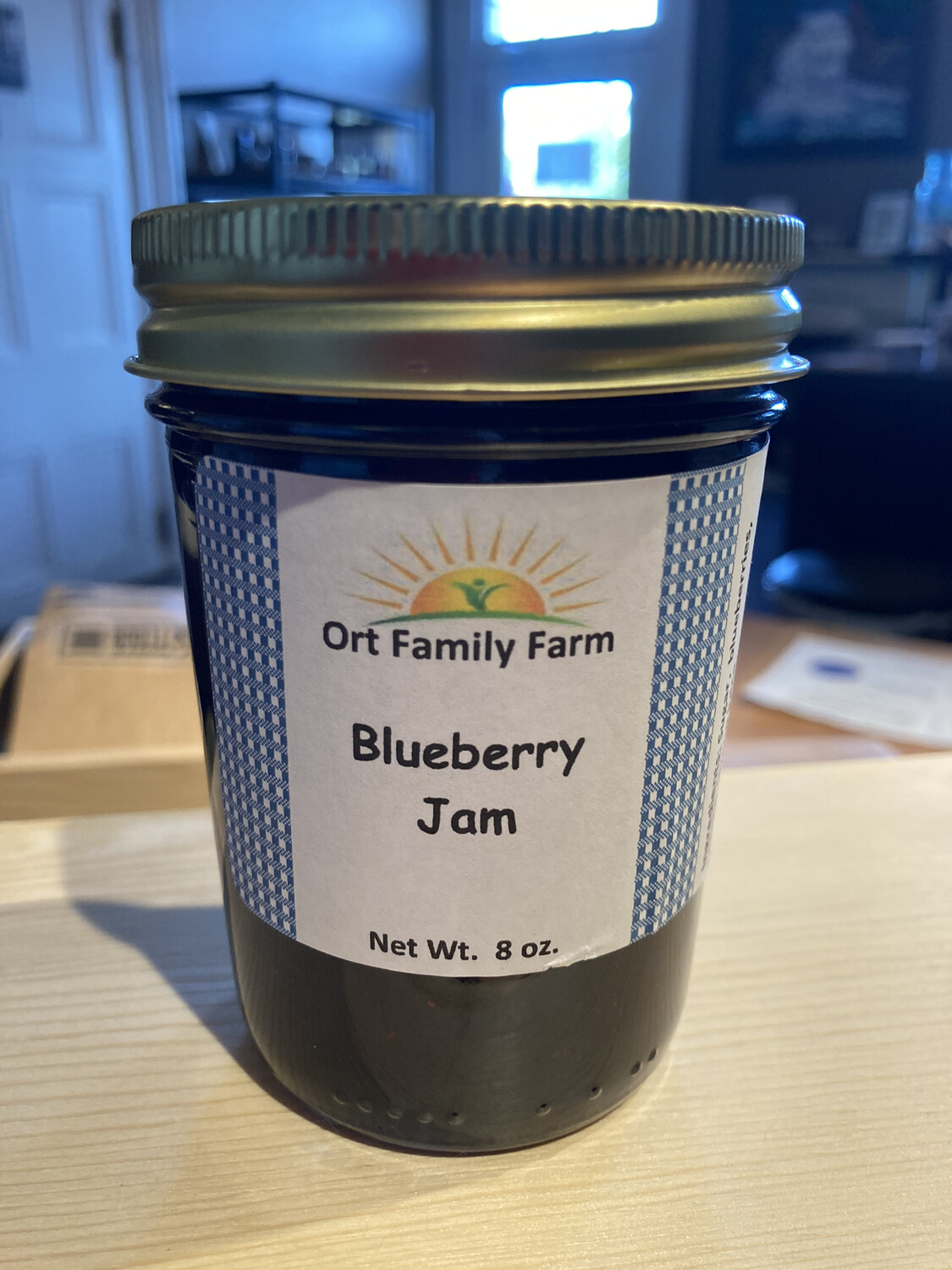 Blueberry Jam 8 oz