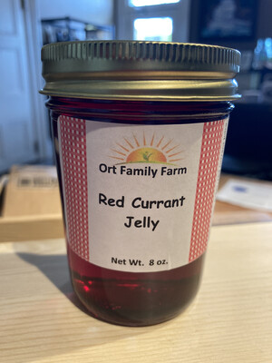 Red Currant Jelly 8 oz