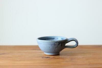 Latte Cup in Wellhouse Blue