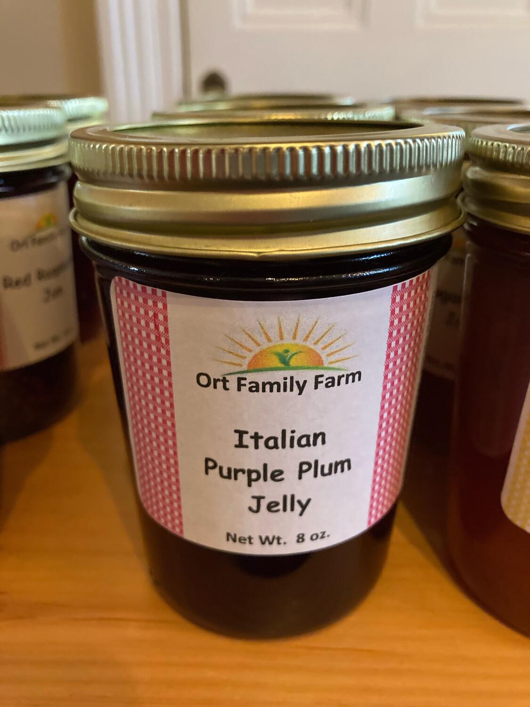Italian Purple Plum Jelly 8 oz