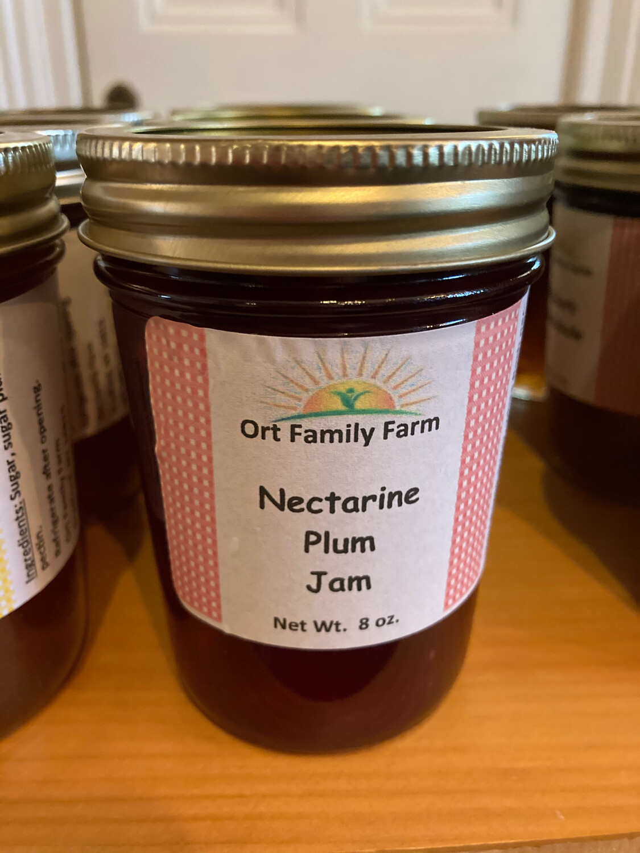 Nectarine Plum Jam 8 oz
