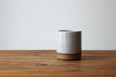 Child's Cup in Stoneware White