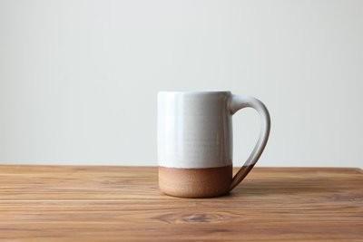 The Farmhouse Mug in Stoneware White