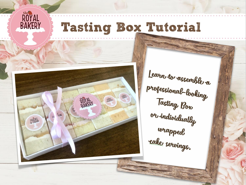 Tasting Box Tutorial