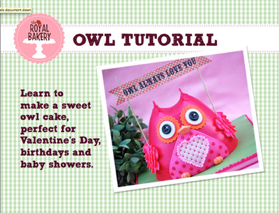 Sweet Owl Tutorial