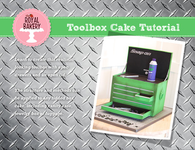 Toolbox Cake Tutorial