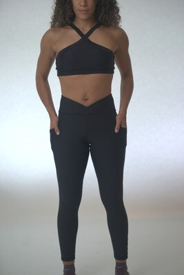 V-cut Legging