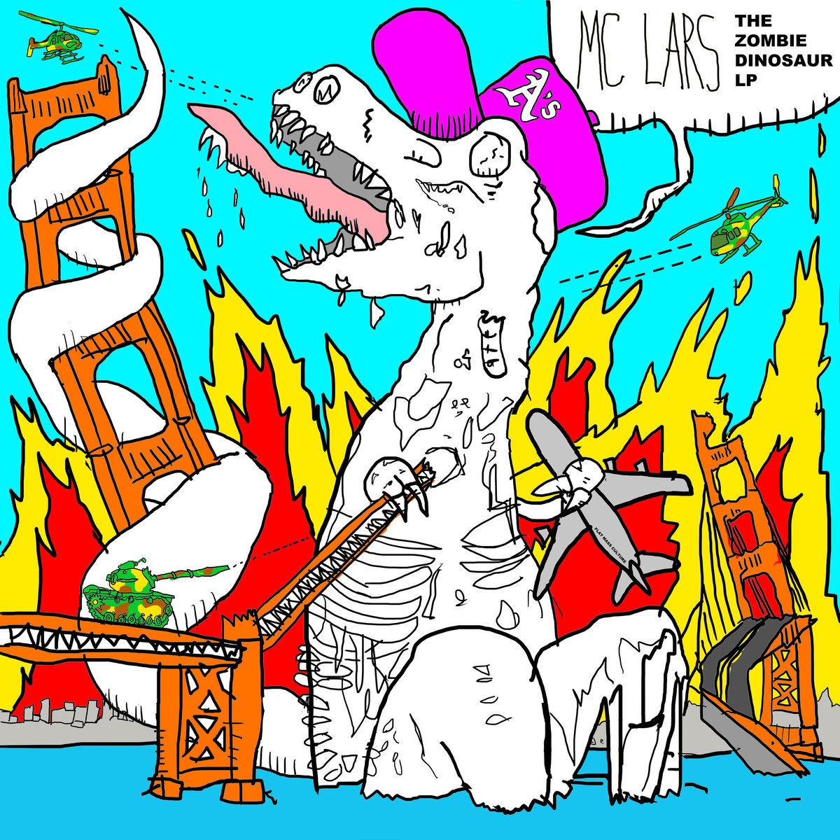 MC Lars Zombie Dinosaur LP