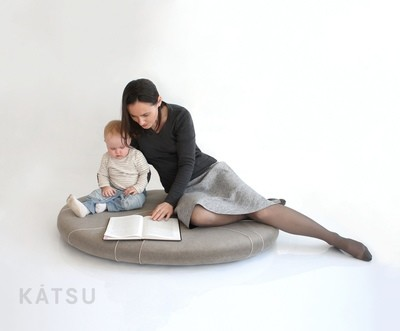Island for play and rest. Seat, lounger for any interior