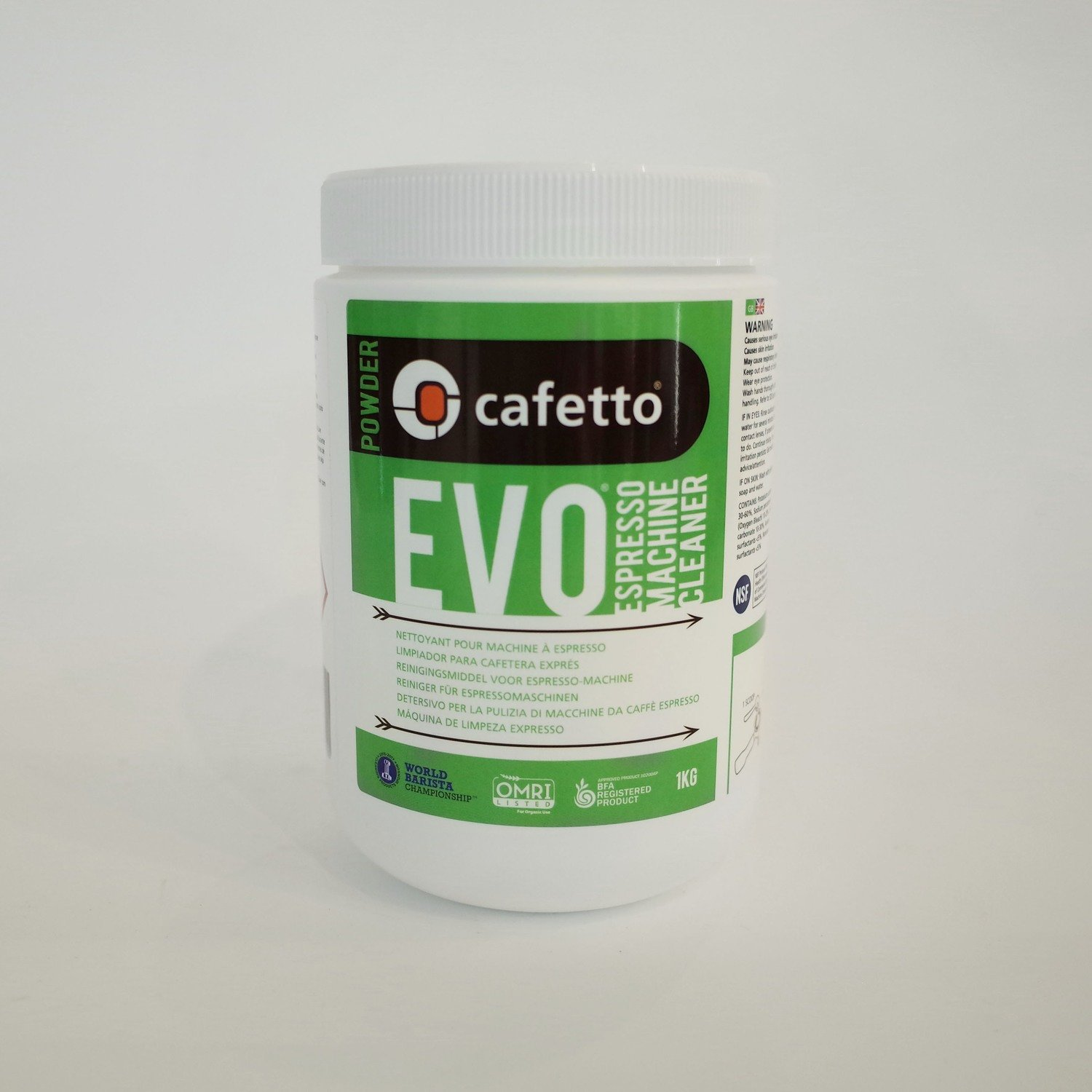 Cafetto Organic EVO Espresso Machine Cleaner 500g/1kg