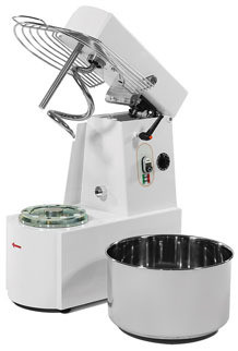 Spiral Mixer w/ Rising Top & Extractable Bowl
