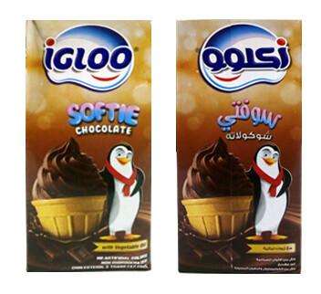 igloo softie chocolate