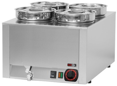 TT ELECTRIC ROUND BAIN MARIE - WET