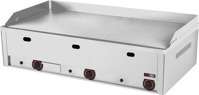 GAS GRIDDLE PLATE (CHROMED)