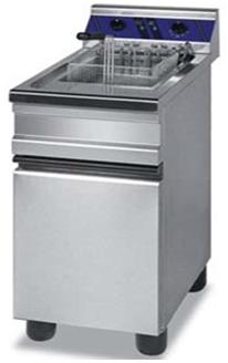 Electric fryer on cabinet / monoblock