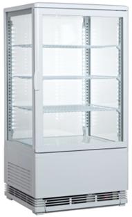 Countertop cold showcase