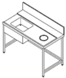 Inlet table.