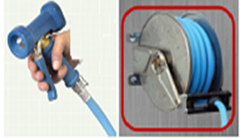 S/S automatic hose reel
