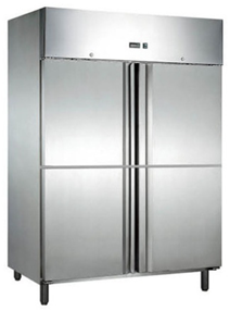 Upright Chiller -Freezer 4 doors
