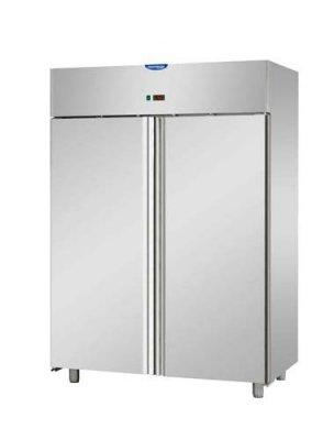 Upright refrigerator.