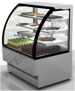 EVO INOX Self Service display