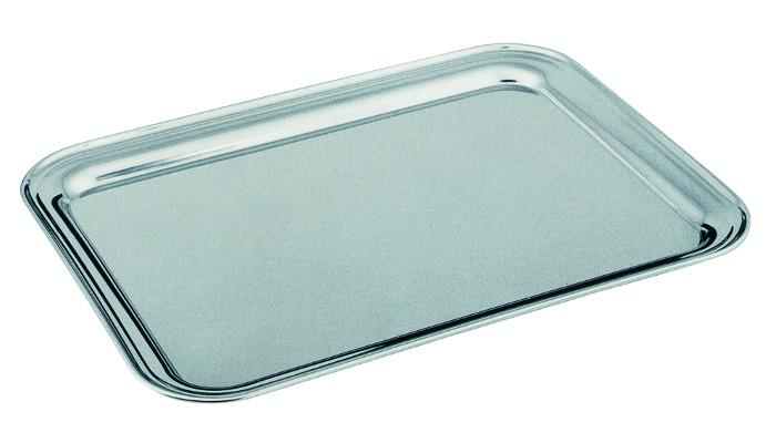STAINLESS STEEL SERVICE TRAY