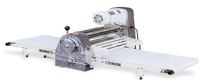 Pastry (croissant) sheeter.
