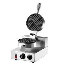 Waffle baker.