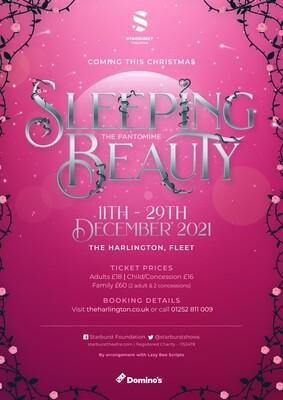 Sleeping Beauty Show Fee