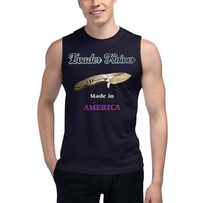 Evader Knives Muscle Shirt(Dark)