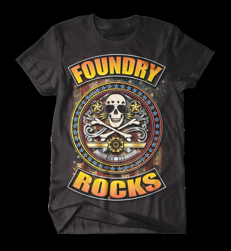 Foundry Rocks T-Shirt