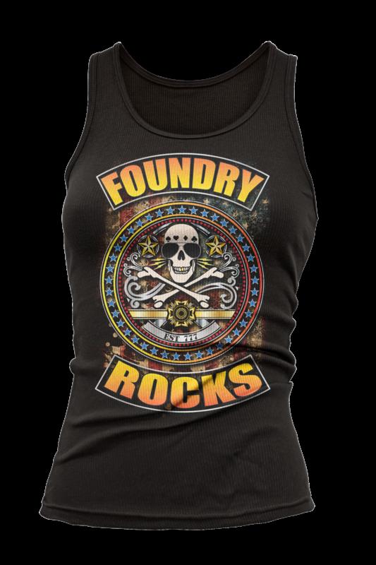 Foundry Rocks Tank