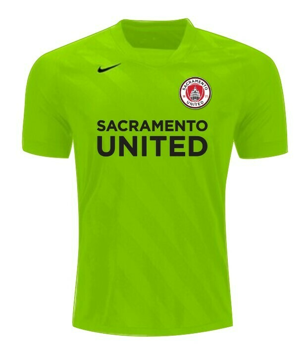 SAC UNITED Short Sleeve Keeper Jersey