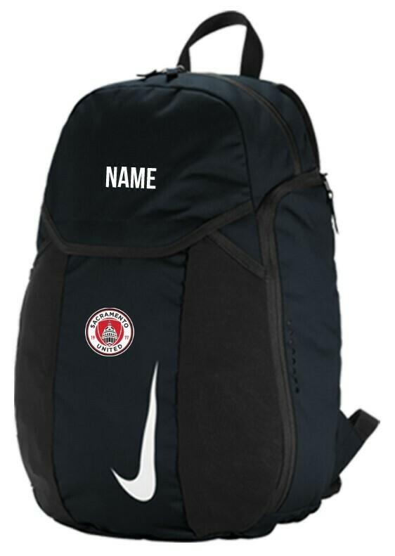 SAC UNITED Backpack with Logo and Name