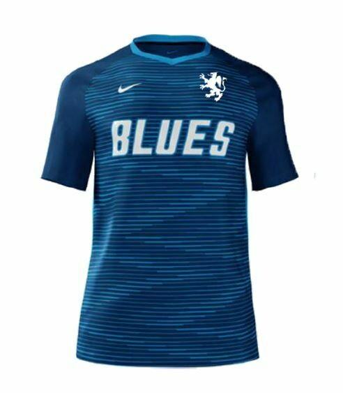 Blues FC Boys Custom Game Jersey