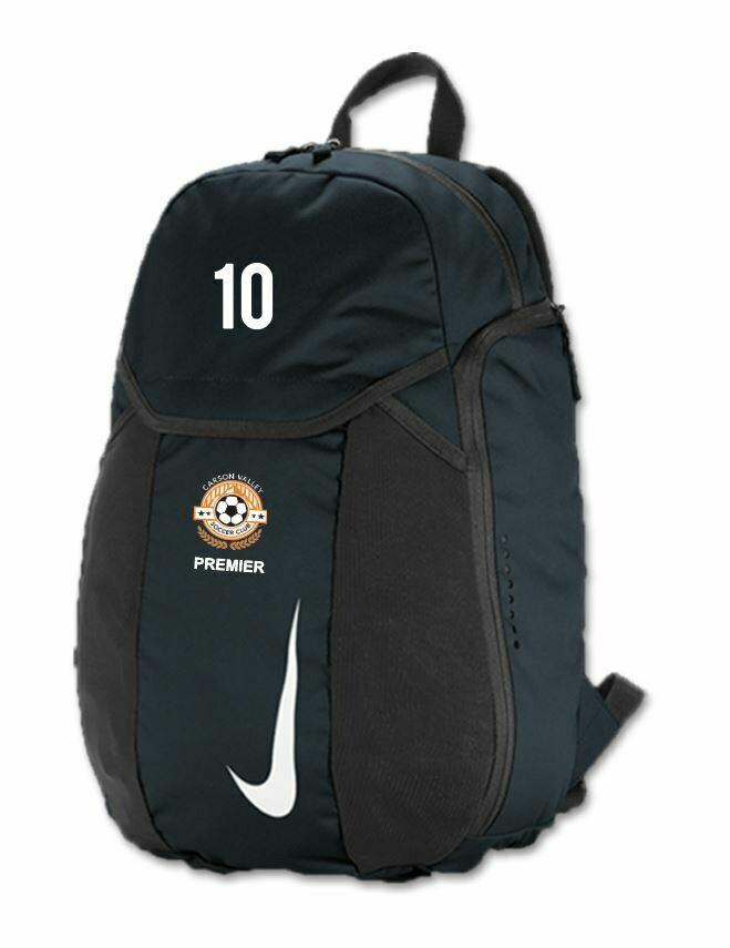 Carson Valley SC PREMIER Backpack