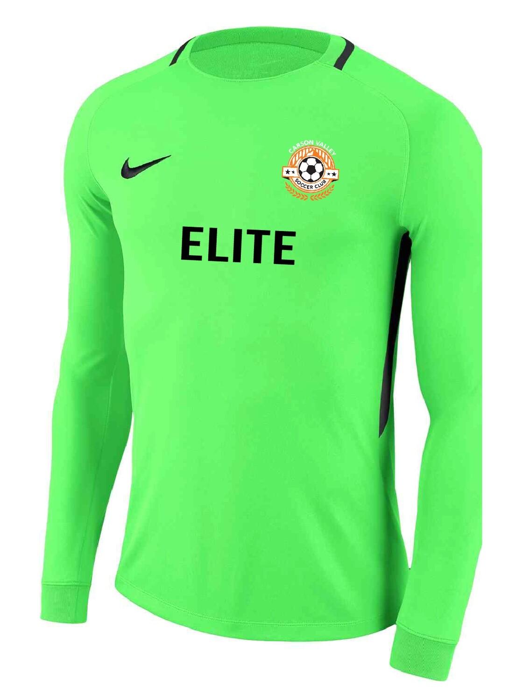 Carson Valley SC ELITE Long Sleeve Keeper Jersey