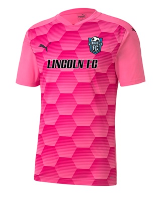 Lincoln FC Alternate Pink Game Jersey