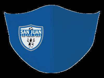 San Juan Face Mask-side logo