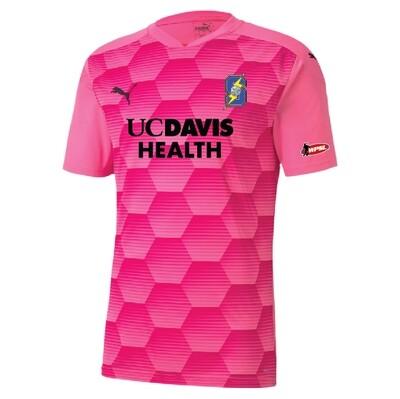 California Storm Pink Replica Jerseys