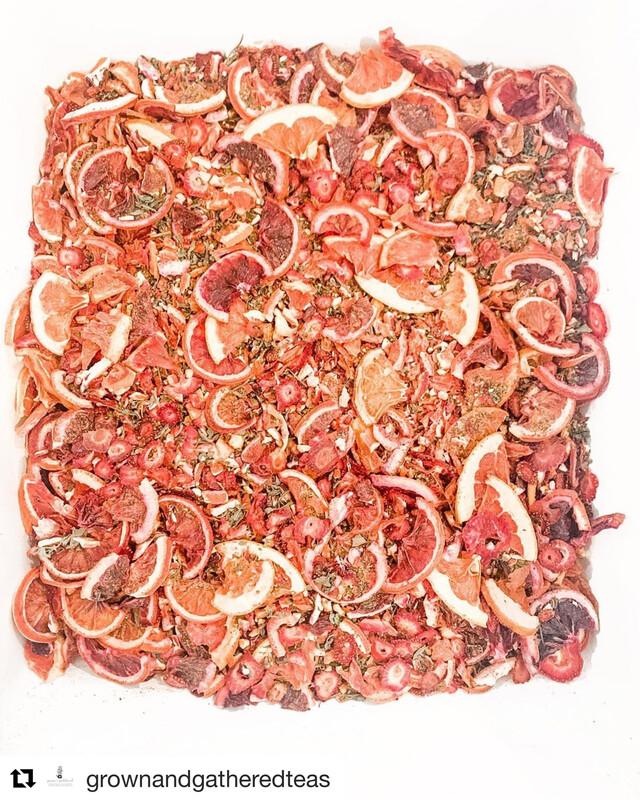 """Little Red Barn "" Homegrown Herbal Tea Blend SUMMER LIMITED EDITION TEA"