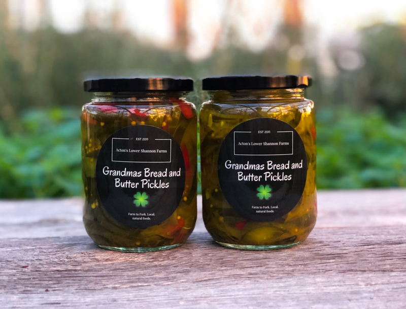 Grandmas Bread and Butter Pickles